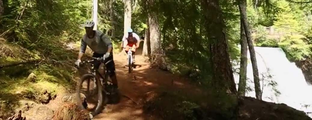 Mountain Bike the McKenzie River Trail